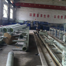 The FRP Membrane Housing Winding Machine